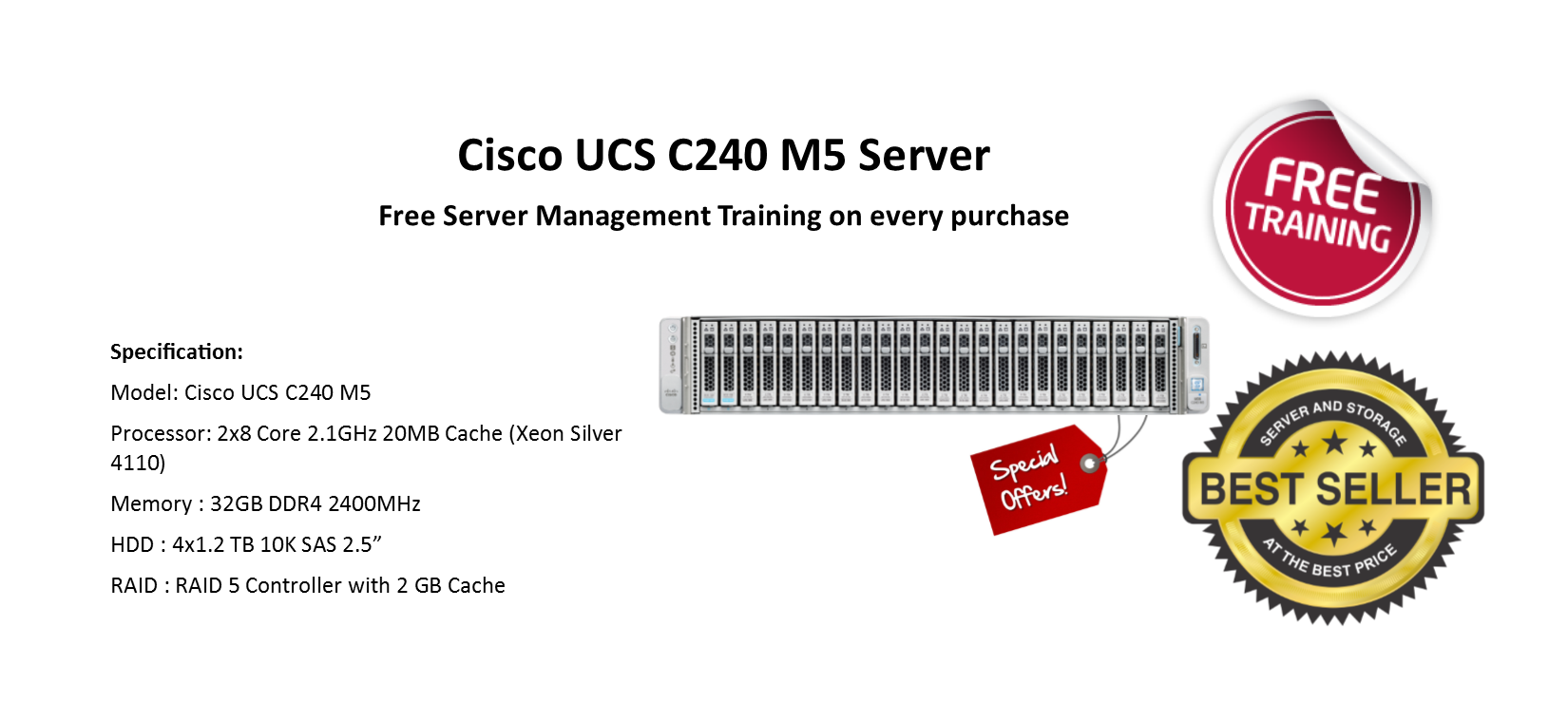 Special Offer in Cisco Server
